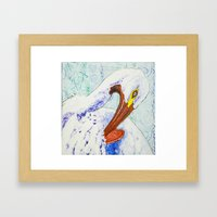 Pelican Dream Framed Art Print