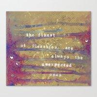 Juanagene's Valentine Canvas Print