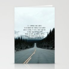 Quote For The Road Stationery Cards