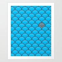The Last Dolphin Art Print