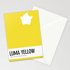 No40 My Minimal Color Code poster Luma Stationery Cards