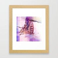 Soft Touching Framed Art Print