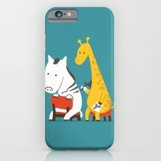 Zebra Tattoo iPhone 6 Slim Case