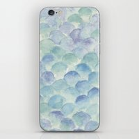 green scales iPhone & iPod Skin