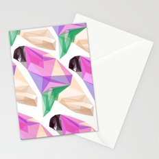 Abstract Pigeon Stationery Cards
