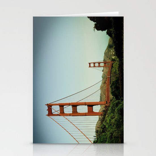 The Golden Gate Bridge at Day Stationery Card