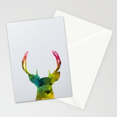 Glass Animal - Deer head Stationery Cards