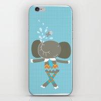 happy elephant iPhone & iPod Skin