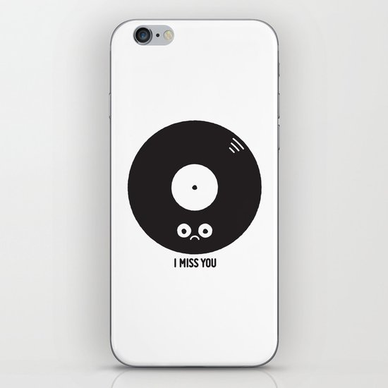For the Record iPhone & iPod Skin