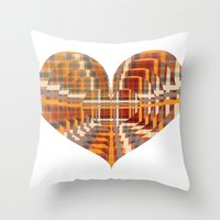 You Have All My Hearts Throw Pillow