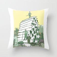 Pot Pioneers Throw Pillow