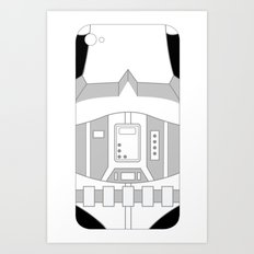 Stormtrooper iPhone Case Art Print