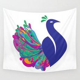 Wall Tapestry - Peacock Fantasy - Mari Biro