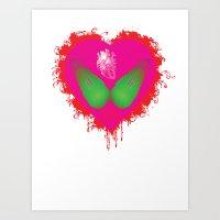 Lovebomb-iiis - élan Vi… Art Print