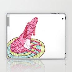 006_pink dog Laptop & iPad Skin