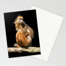 Banded Leaf Monkey Howletts Stationery Cards