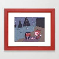 If I Was You Project  Framed Art Print