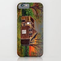 iPhone & iPod Case featuring Old Farmhouse  by maggs326