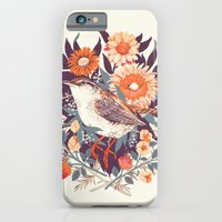 death iPhone & iPod Cases featuring Wren Day by Teagan White