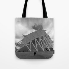 A man Tote Bag