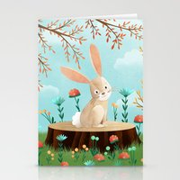 Woodland Friends - Bunny Stationery Cards