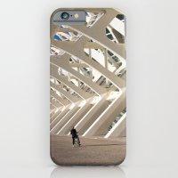 Biker and the skeleton iPhone 6 Slim Case