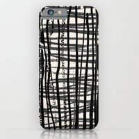 iPhone & iPod Case featuring Painted_Plaid by Crystal ★ Walen