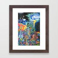 The Elements Framed Art Print