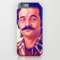 iPhone Cases featuring Young Mr. Bill Murray by Thubakabra