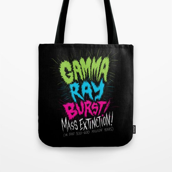 Gamma Ray Burst Tote Bag