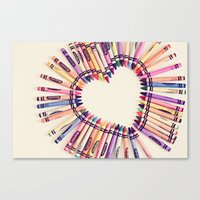 love in every color Canvas Print