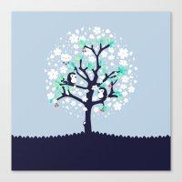 Bloomy Canvas Print