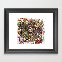 The Art Of Cut Throat Bu… Framed Art Print