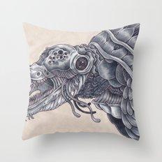 Deep Sea Creature Throw Pillow
