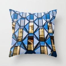 Geometric Glass  Throw Pillow