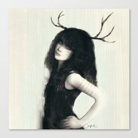 Zooey Canvas Print