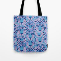 Psychedelic Camouflage Tote Bag
