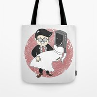 Geek In Love Tote Bag