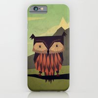 owl iPhone & iPod Cases featuring Owl by Yetiland