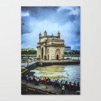 gateway of india Canvas Print