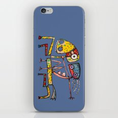 Ballerina riding iPhone & iPod Skin