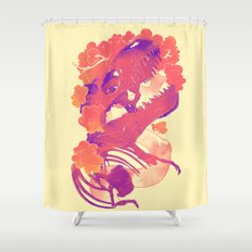 Dawn of Nature Shower Curtain