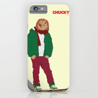 iPhone & iPod Case featuring CHUCKY - Modern outfit version by Lucho Margolin