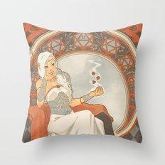 Game Nouveau Throw Pillow