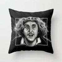The Wilder Doctor Throw Pillow