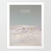 Mount St. Helens Art Print