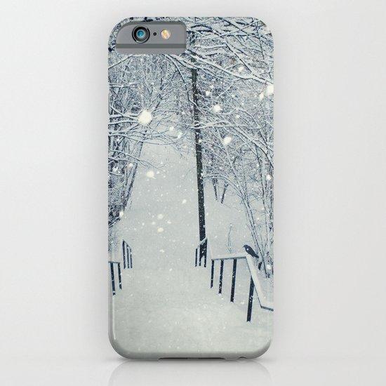 snow slide iPhone & iPod Case