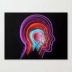 Electric Mind Canvas Print