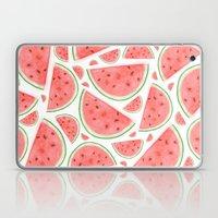 Watercolour Watermelon Laptop & iPad Skin