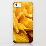 Yellow Drops iPhone 5c Slim Case